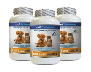 dog itching skin relief - PETS HAIR AND COAT COMPLEX 3B - dog quercetin
