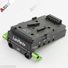 LanParte V-Mount BP Battery Power Supply Adapter 5V 7.4V 12V 15V USB HDMI HUB