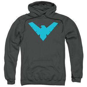 BATMAN NIGHTWING SYMBOL Licensed Adult Pullover Hooded Sweatshirt Hoodie SM-3XL