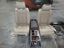 07-14 FORD EXPEDITION FRONT SEAT CONSOLE DVD PLAYER TAN LEATHER POWER