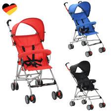 Buggy Kinderwagen Baby Reise Sportwagen hochwertig klappbar Zubehör 3 Farben NEU