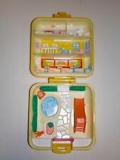 Vintage POLLY POCKET Midge's Play School Nursery Compact 1989 CASE ONLY Bluebird