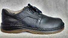 Dr. Doc Martens Women'sJohn Black Leather Casual Comfort Oxford Shoes US 11UK 10