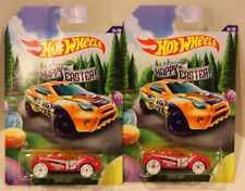 2-2015 Hot Wheels Happy Easter Super Gnat #4/6 Walmart Wheel Variation Quantity