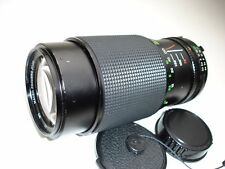 VIVITAR 75-205mm F 3.5-4.5 Macro focusing zoom lens for MINOLTA MD mount cameras