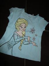 "NEUwertig!!! ""Disney - Frozen - Elsa"" Shirt kurzarm f. Mädchen - eisblau Gr. 104"