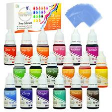 18 Color Bath Bomb Soap Dye Shrink Wrap Bags Food Grade Skin Safe Coloring