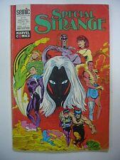 SEMIC MARVEL COMICS SPECIAL STRANGE N° 72 JANVIER 1991 TRES BON ETAT