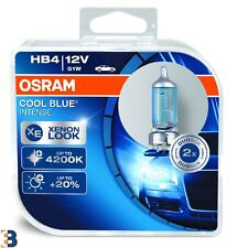 2x OSRAM HB4 12V 51W P22d COOL BLUE INTENSE 9006CBI-HCB Halogen Headlight Bulbs