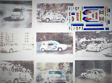 Decals 1/43e Renault 5 GT Turbo Seur JA.Hevia Asturies 1987