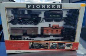 1996 New Bright Pioneer Early American Railroad Train Set No.180 Original Box!🔥