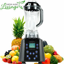 NEW 3.5HP DIGITAL TOUCH PRO COMMERCIAL FRUIT SMOOTHIE BLENDER JUICE MIXER  ^