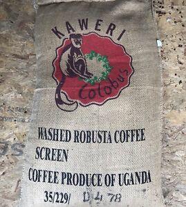 UGANDA KAWERI COLOBAS Green/Raw 100% Robusta Coffee Beans For Home Roasting
