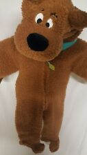 Scooby Doo Full Halloween Costume Youth XS plush hooded warm Warner Brothers