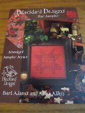 Blackbird Design Star Sampler 2003 Cross Stitch Chart Only - No Thread/Floss