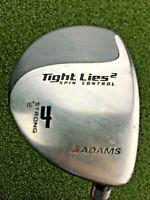 Adams Golf Tight Lies 2 Spin Control 4 Wood 16* / RH / Firm Graphite / gw1707