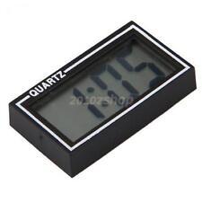 Auto KFZ Uhr LCD Display Anzeige Zeit Digital Clock mit Klebeband