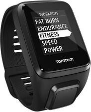 TomTom Spark Cardio + Music(Black – Large) GPS Sport Watch *Brand New*