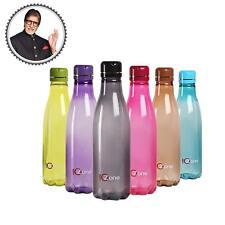 Cello Ozone Plastic Water Bottle Set, 1 Litre, Set of 6, Assorted Colors