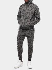 Nike Men's Sportswear Tech Fleece 'Camuflaje' Chándal Gris/Negro Talla S Nuevo