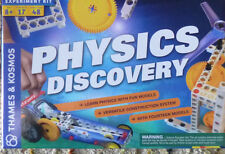 THAMES & KOSMOS PHYSICS DISCOVERY SCIENCE KIT 14 Models Versatile Construction