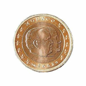 """"""""""""""" ORIGINAL 1 EURO Monaco 2002 """""""""""""""