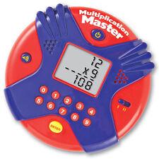 Multiplicación Master-Children's manual electrónico veces las tablas Matemáticas Juego