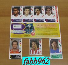 World Cup Germany 2006 7 Extra Stickers Panini Update Mint/Edicola Aggiornamenti
