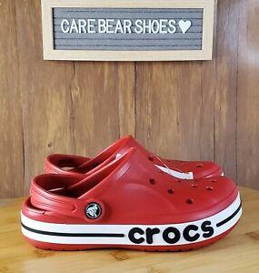 Crocs Unisex-Child Bayaband Clog K Pepper Red - 205100-6EN SIZE J2