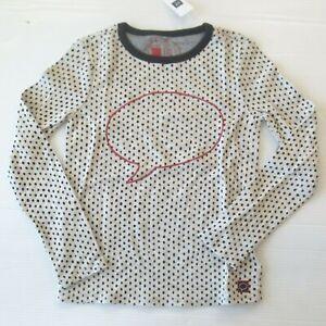 Gap Kids ED Ellen Degeneres Thought Bubble Graphic Polka Dot Shirt  S (6-7)  NWT
