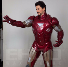 Life Size Iron Man Statue Tony Stark Prop Robbert DC Display Marvel Style 1:1