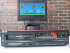 Sony Super BetaMax Sl-Hf350 Sweet unit with features like a more expensive Vcr!