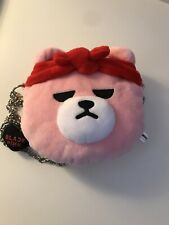 Blackpink x Krunk IN YOUR AREA MINI ROUND CROSS BAG Authentic Black Pink
