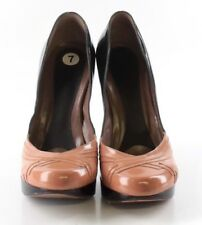 Marni Two Tone Patent Leather Pumps Womens Size EUR 37.5M MSRP $815