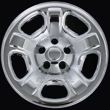 "1 Replacement CHROME 02-07 Jeep Liberty 16"" Wheel Skins Hub Cap Covers Spare Rim"