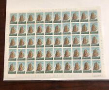 Mozambique #454 Full Sheet 50 Stamps Sailing Ships