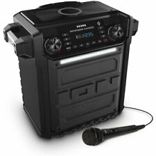 Ion Audio Pathfinder Charger, Bluetooth Portable Speaker w/Wireless Qi Charging