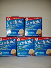 Lactaid Fast Act Caplets, total of 60 Caplets!