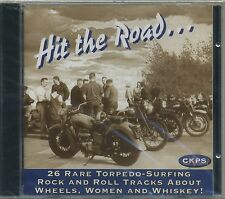HIT the Road - 26 RARE SILURO surfing Rock & Roll tracks about WHEELS WOMAN CD