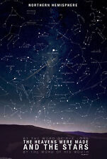 Map of the Constellations BY THE WORD OF THE LORD Astrology Astronomy POSTER