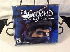 LEGEND OF THE PROPHET & THE ASSASSIN (PC, 2001) PC CD-ROM