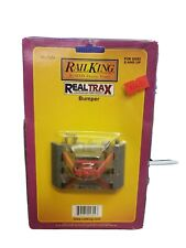 RAIL KING REALTRAX 40-1024 Lighted Bumper New Pack Red