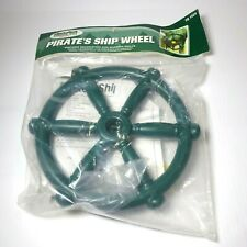 Timber Bilt Swing N Slide Green 12 inch Playground Pirates Ship Wheel TB 1524