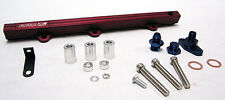 OBX Red Fuel Rail Fit 1994 95 1996 Lancer Evo Evolution II III 2.0L CE9A 4G63T