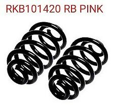 Pair Of Genuine Rover 75 MGZT MGZT-T Tourer Rear Coil Springs CI Code RB Pink