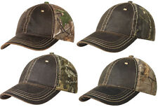 New Hunting Hat Cap Adjustable Pigment Dyed Realtree Mossy Oak Infinity Breakup