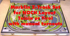 Marklin Z Track-Set Manual for NOCH Z Scale Layout Tessin 87080 or Tirol 87090