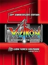 Voltron - Defender Of The Universe : Collection 2 (DVD, 2004, 3-Disc Set)