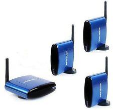 660FT 5.8GHZ AV Wireless Transmitter 3 Receivers Sender Audio Video  Pat630