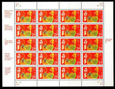 US Scott 2720 Mint Sheet of Lunar New Year of the Rooster 29c MNH 1992